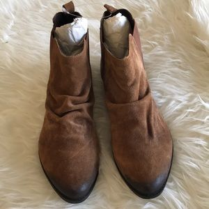 Coconuts by Matisse brown leather bootie